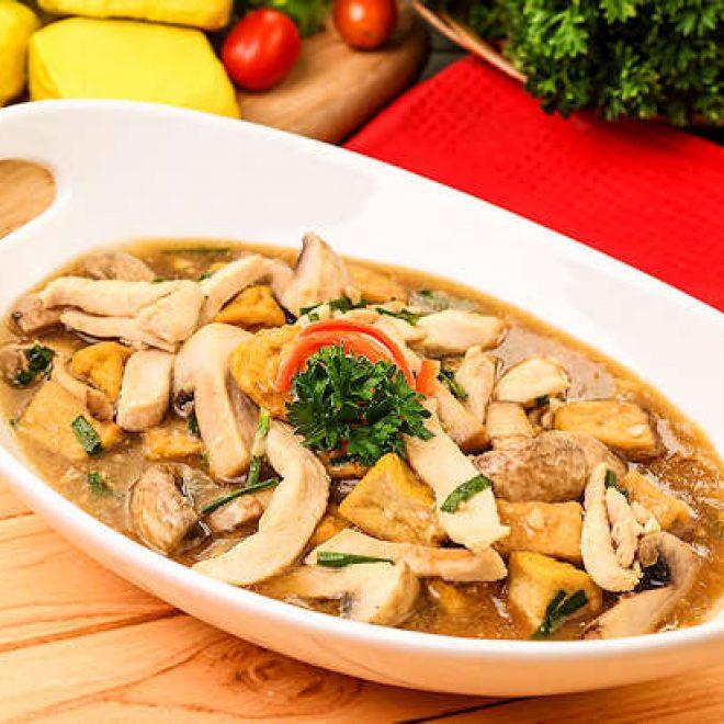 Resep Ayam Jamur Saus Tiram