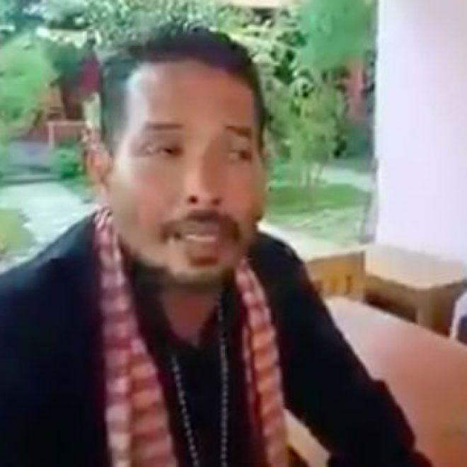 Video Aktivis Anti Masker Tuding Bupati....ini, Rekayasa Covid-19