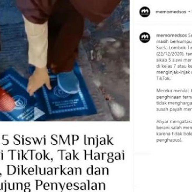 Nangis Terus, 5 Siswi SMP Injak Rapor Demi...