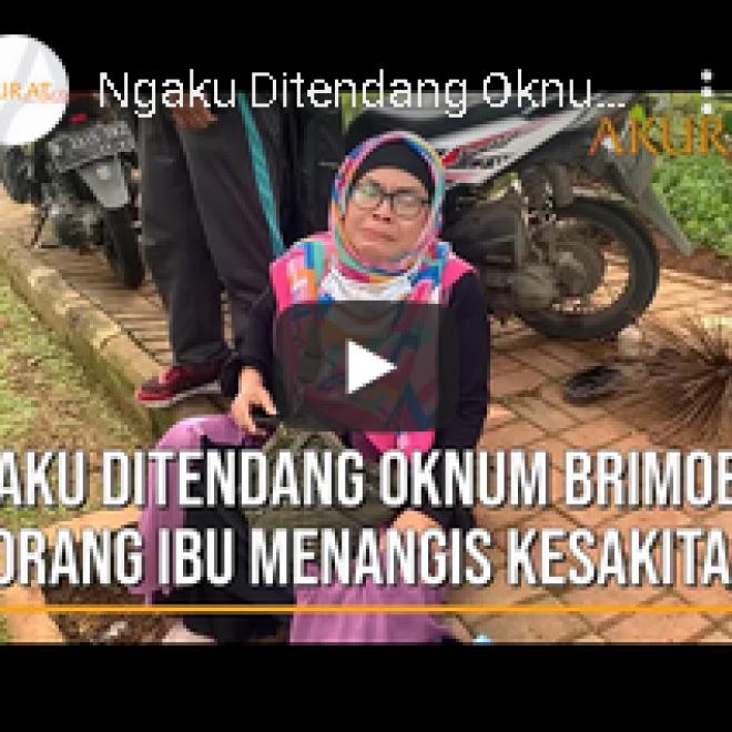 Video Ibu-ibu Menangis Kesakitan, Sebut Ditendang Oknum Brimob Saat Aksi 1812