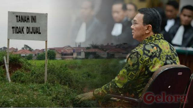 sssttt....Naah...! PN Jaksel Sidangkan Kasus Ahok Beli Tanah Milik Pemprov DKI