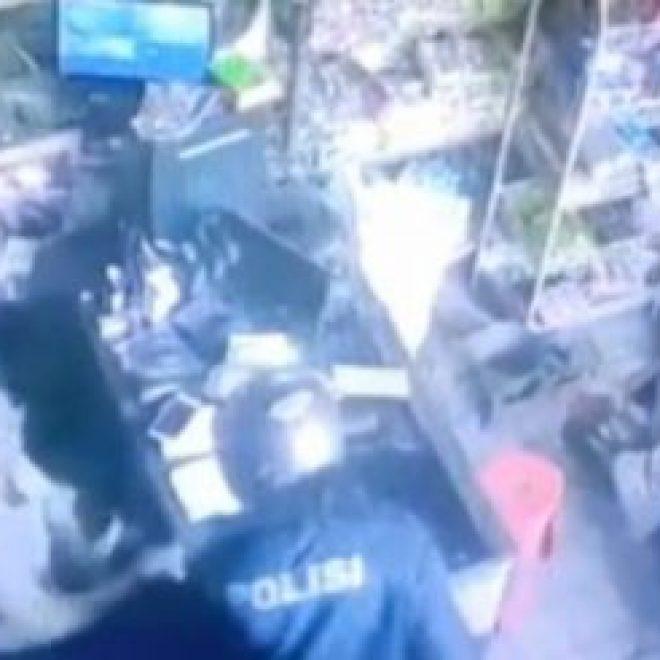 "Heboh! Perampok Bersenjata Par4ng Pakai Jaket Bertulis ""Polisi"""