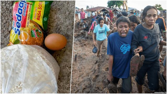 Dapat Bantuan 1 Butir Telur dan Sebungkus Mie Sedap, Korban Bencana NTT: Ini Menghina Kami
